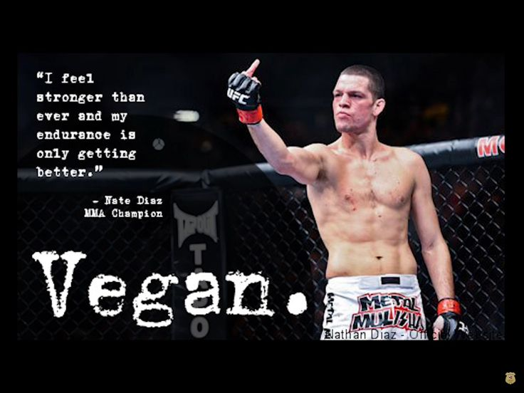 """IM NOT SURPRISED MOTH#ER FUCKERS"" Nick Diaz - MMA Champion - VEGAN"