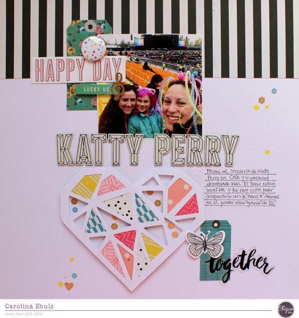 Katty Perry - Pep Rally February Clique Kits