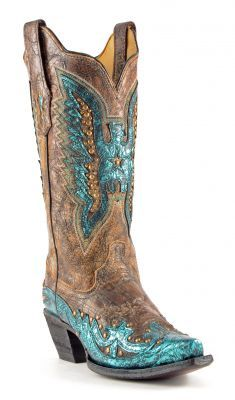 Womens Corral Cowboy Boots - LOVE!!