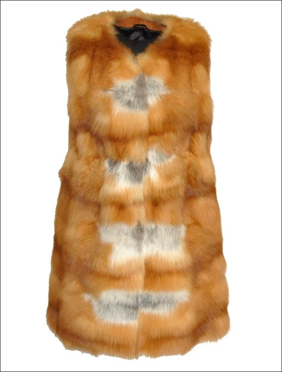 Γυναικείο γούνινο γιλέκο Γούνα: red canadian fox Τιμή: 1550€