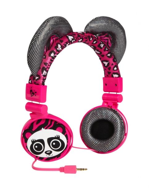 Just For Girls Toys : Panda critter headphones girls tech accessories room