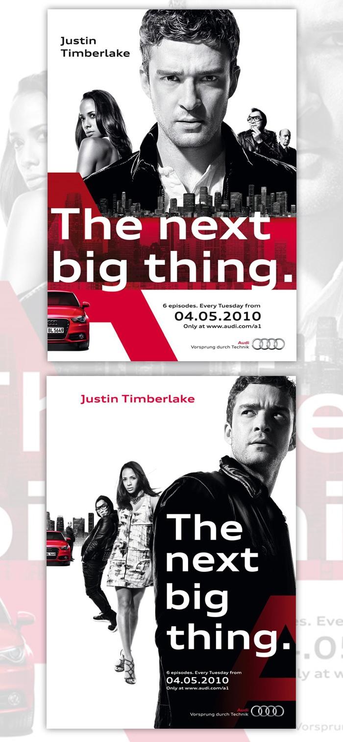 Kampagne: The next big thing. — Agentur: Heimat Werbeagentur — Kunde: Audi AG — Jetzt noch mehr Kampagnen pur im Fischer`s Archiv! www.fischersarchiv.de