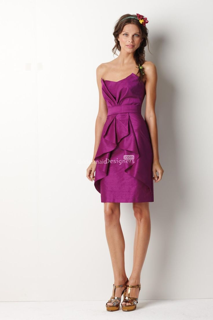 1000 ideas about fuschia bridesmaid dresses on pinterest