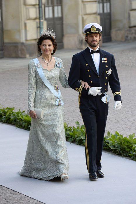 Prinsessa Madeleinen häät; Kuningatar Silvia