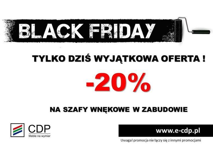 TYLKO DZISIAJ!!! BLACK FRIDAY ♥️😀 Zapraszamy do naszych salonów http://e-cdp.pl/kontakt/salony