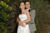 Alejandra Novia Casamiento Ceremonia Adelaida Mercado maquillaje y Florencia Mercado peinado