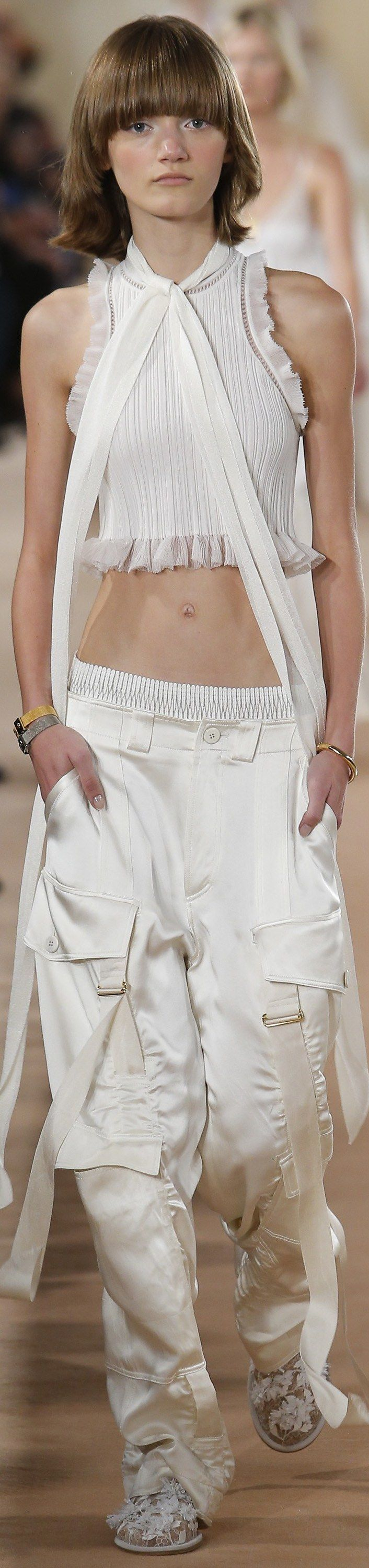 Balenciaga - Spring 2016 RTW  Not the biggest fan of the pants