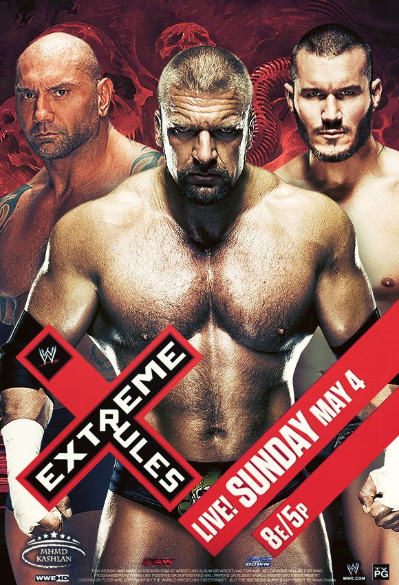 WWE Extreme Rules 2014 Poster 2 by MhMd-Batista on DeviantArt