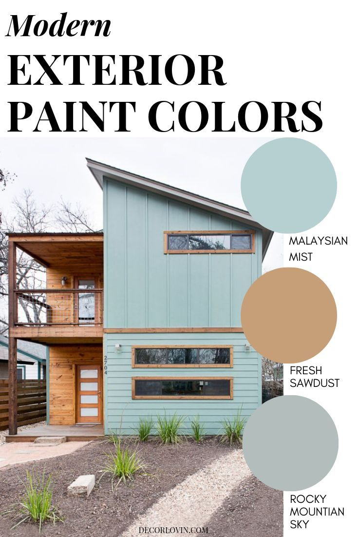 Modern Exterior Paint Colors Exterior House Paint Color Combinations House Exterior Color Schemes House Color Palettes