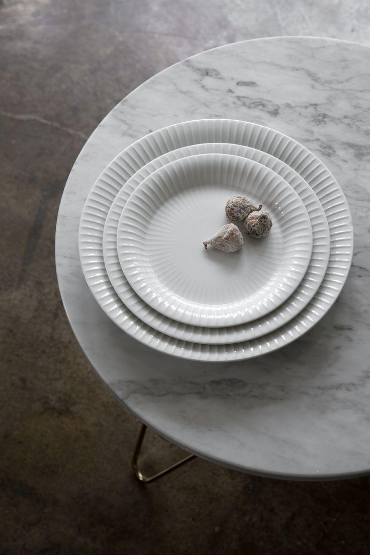 Plates - Hammershøi Tableware - Kähler Design Spring News 2015, Design Hans-Christian Bauer