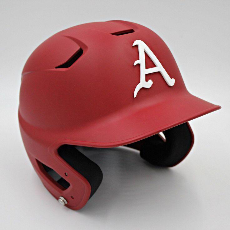 Custom made 3d baseball helmet decal 3d printed team logo