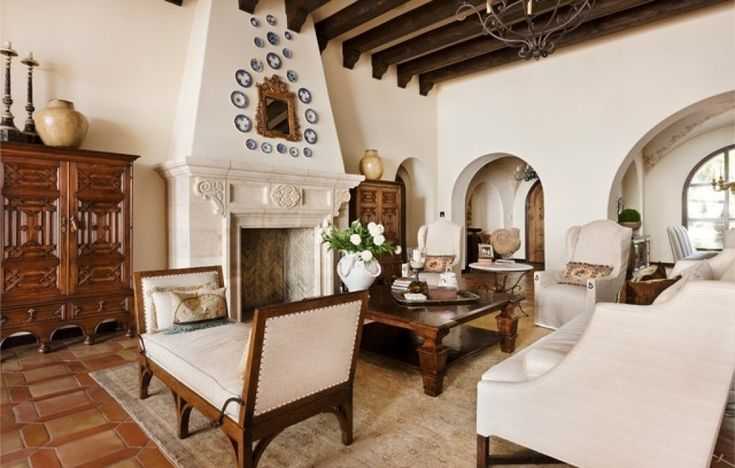 Spanish Home Interior Design Spanish Colonial Revival Interior ...