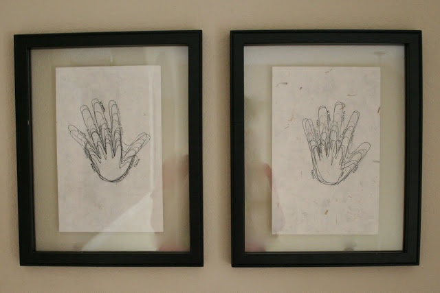 Trace their hand on their birthday every year on the same paper. (It will make you cry. They grow up so fast!)