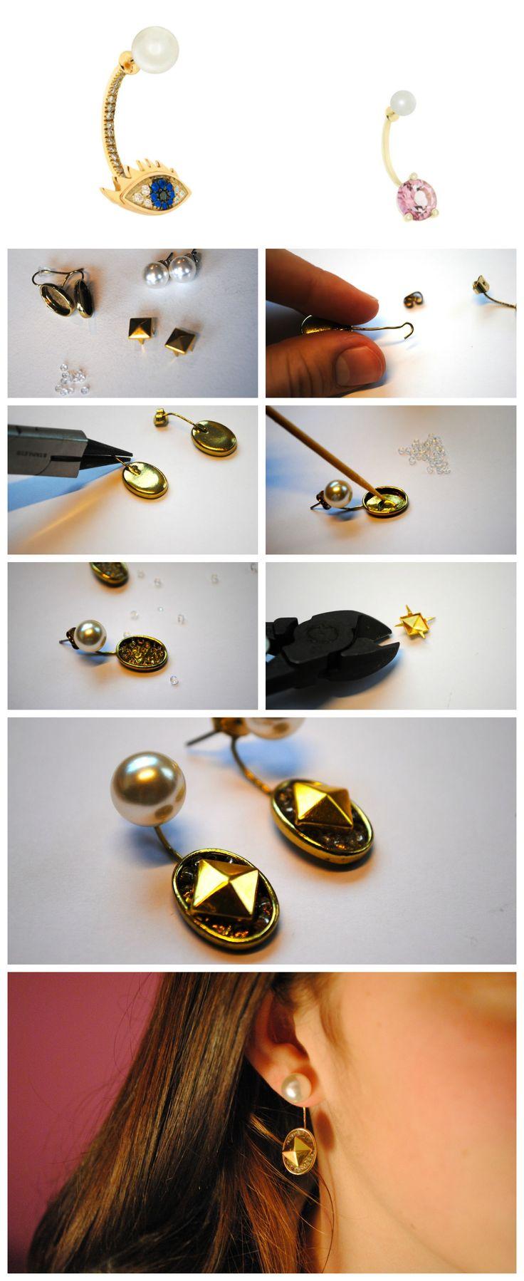 92 best diy ideas earrings images on pinterest | jewelry ideas
