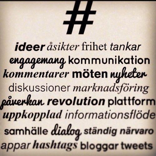 Vad är sociala medier för mig? idalindstrm.tumblr.com  ©idalindström