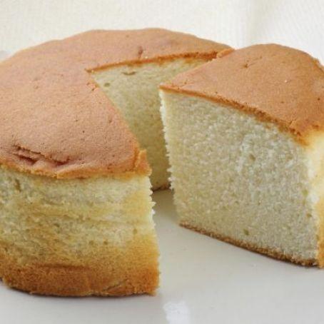 Pão de ló no vapor sem glúten e sem lactose