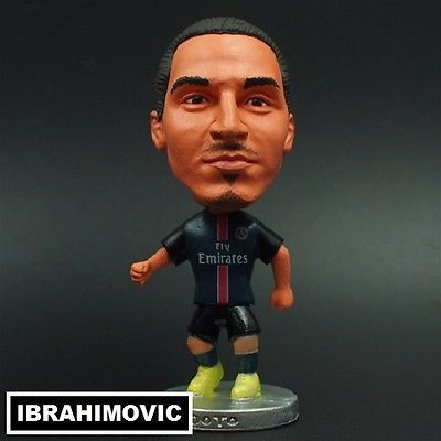 Doll ZLATAN IBRAHIMOVIC #10 PSG football Actionfigure 7cm