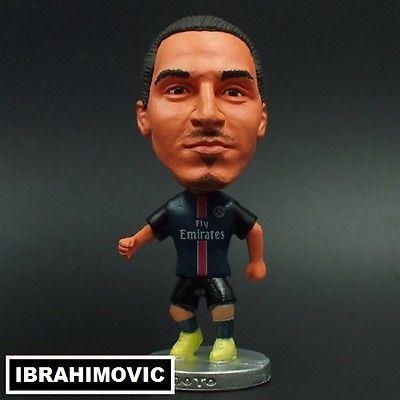 Doll ZLATAN IBRAHIMOVIC #10 PSG football Actionfigure 7cm