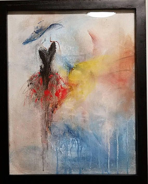 Démonstration peinture abstraite (10) - Abstract acrylic painting