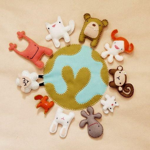 Felt CharactersBoxes Offices, Felt Dolls, Animaletti Feltro, Felt Toys, Baby Animal, Funny Animal, Little Animal, Animal Crafts, Felt Animal