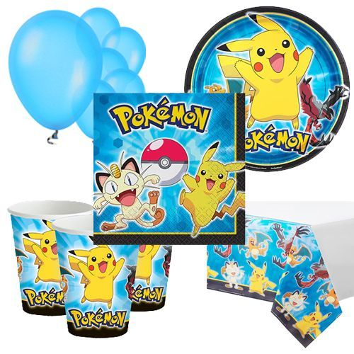 Party Pack: Pokemon Party Pack for 8, 16, 24 or 32 kids (price shown for 8pk)