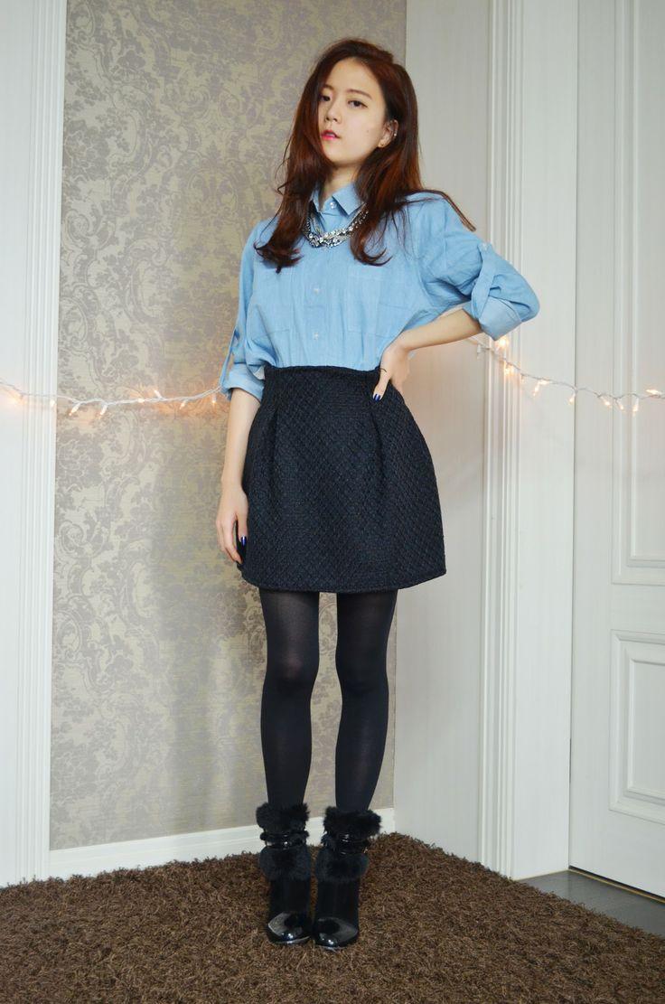 q2han diy box pleat skirt gt gt http www