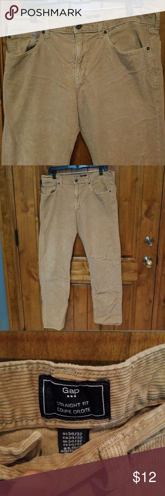 Gap mens corduroy pants Size 34x32 Very good condition GAP Pants Corduroy