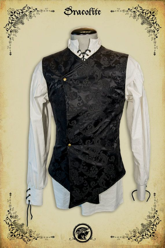Gentilhomme Jacket medieval clothing for men LARP by Dracolite