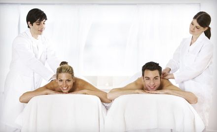 Groupon - Individual or Couples Spa Package with Massage, Body Wrap, and Facial Treatment at Massage Spa & Beyond (Up to 75% Off). Groupon deal price: $69.00