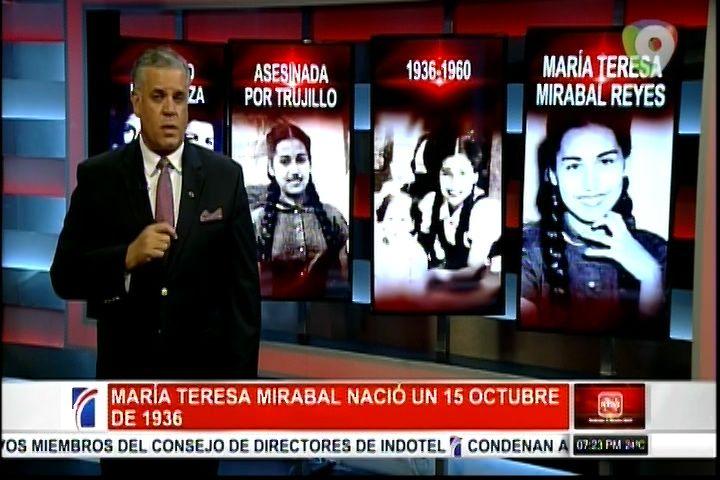 Historia Dominicana: María Teresa Mirabal