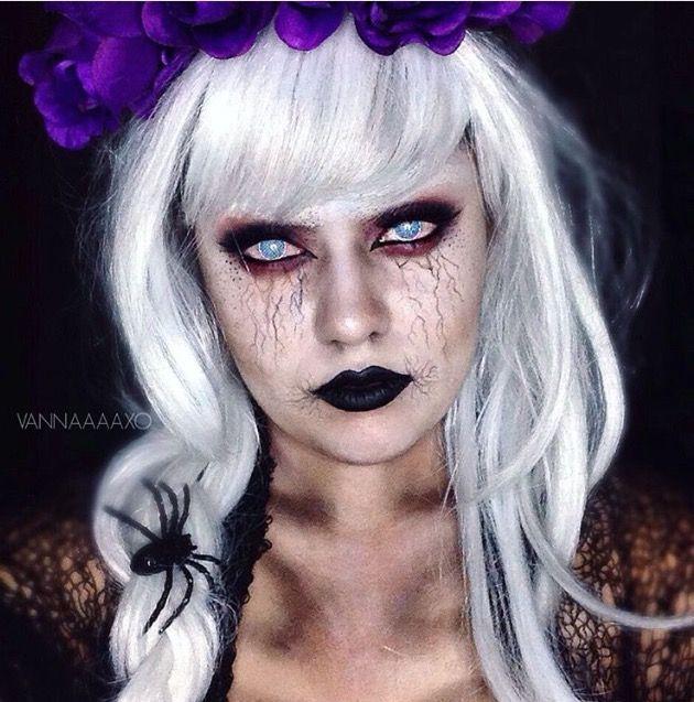 Halloween makeup by Vanna #vannaaaxo