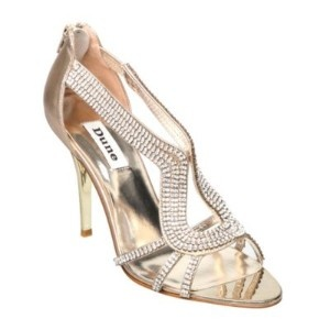 These Dune Decadence diamante shoes make my heart skip a beat!
