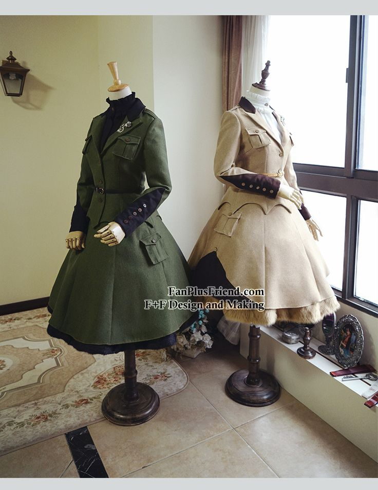 fanplusfriend - Steel Rose, Military Lolita Steampunk Double-Layer Uniform Skirt*2colors Instant Shipping, $60.00 (http://www.fanplusfriend.com/steel-rose-military-lolita-steampunk-double-layer-uniform-skirt-2colors-instant-shipping/)