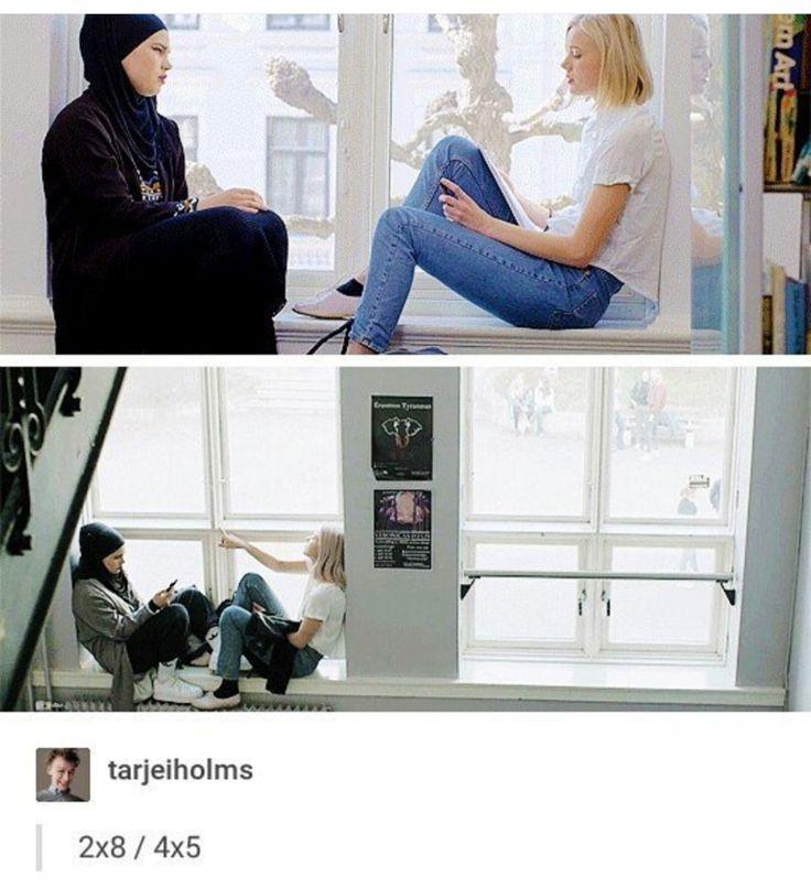 Cool spot for a conversation