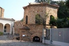 See the Arian Baptistery in Ravenna