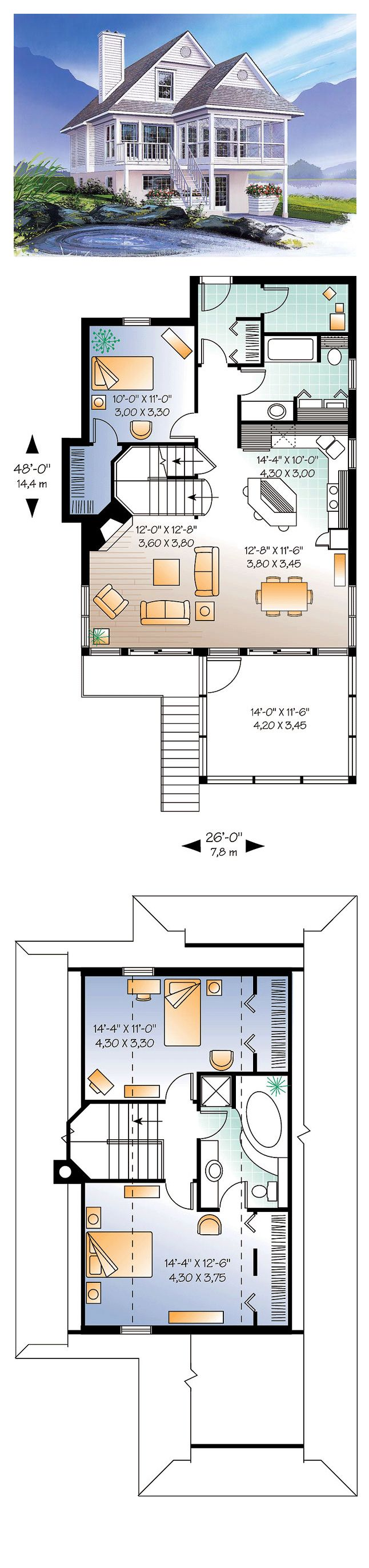 1000 Images About Hillside Home Plans On Pinterest
