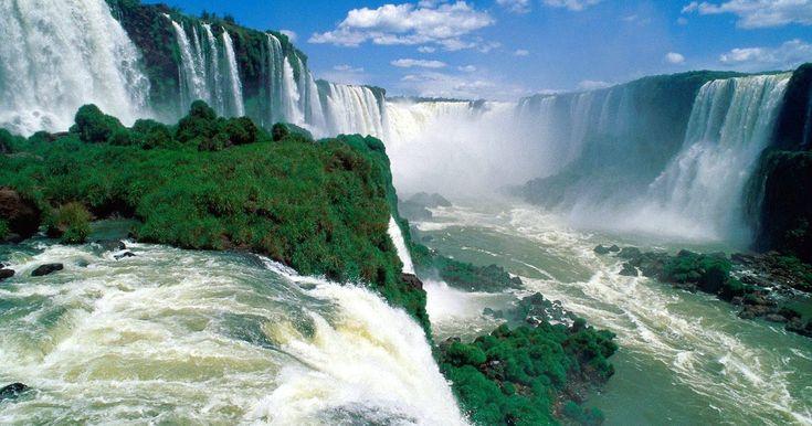 Wow 30 Gambar Pemandangan Yg Menakjubkan Pemandangan Air Terjun Yang Menakjubkan Di Iguazu Falls Download Fot Di 2020 Pemandangan Fotografi Pemandangan Air Terjun