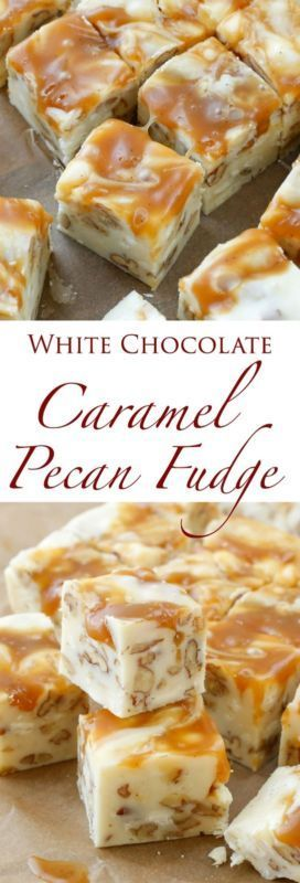White Chocolate Caramel Pecan Fudge | eBay