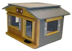 40 Best Cat House Images On Pinterest Feral Cat Shelter