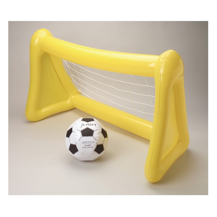 Spectacular Inflatable Soccer Goal and Ball Set