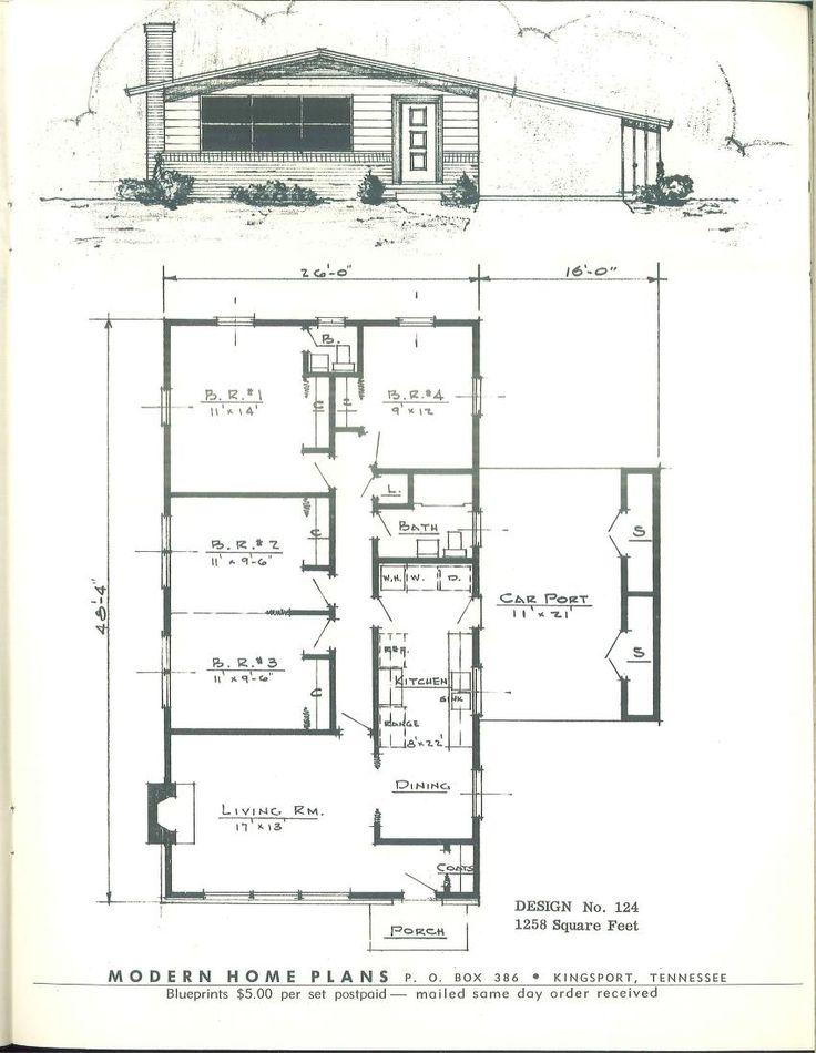 102 besten House Floor Plans Bilder auf Pinterest | Arquitetura ...