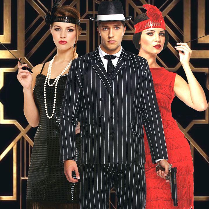Fonkelnieuw Van gangster tot maffia kostuum en van charleston jurk tot Peaky BZ-19