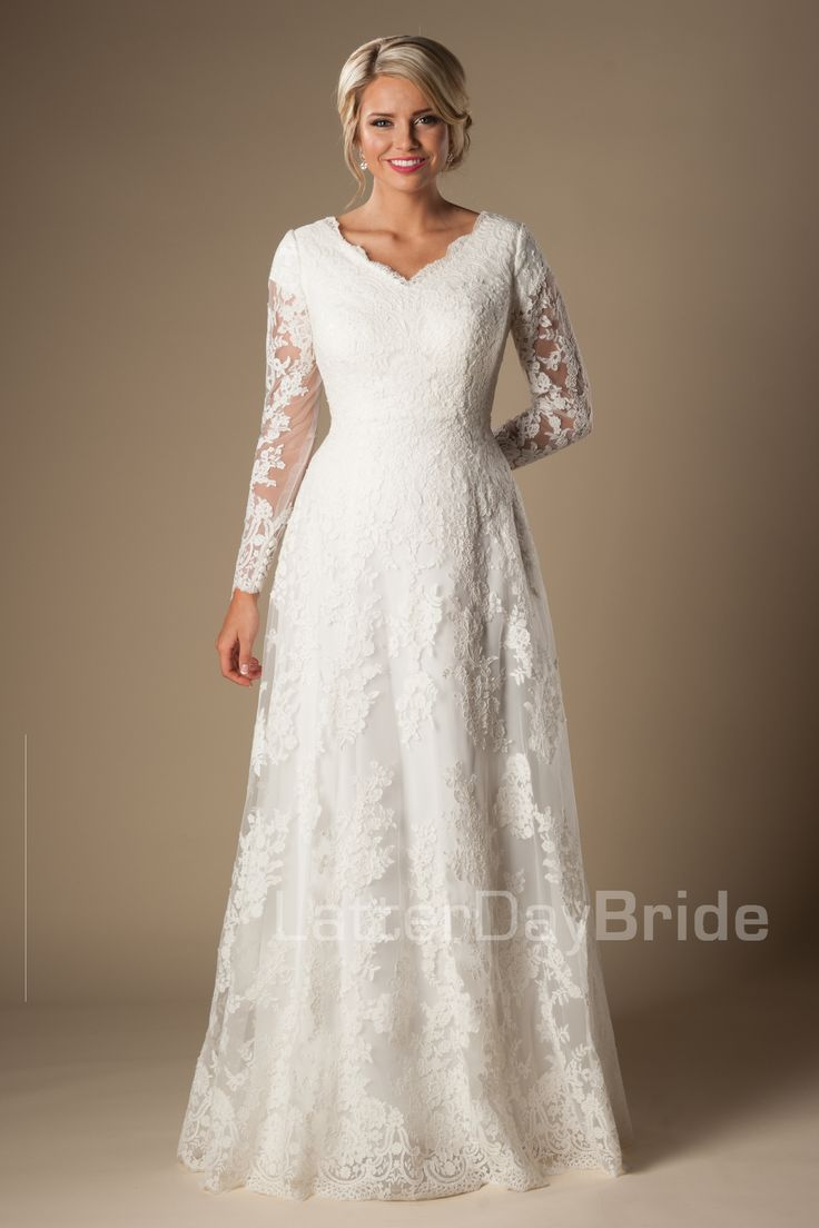 35 best Modest Wedding Gowns from Gateway Bridal images on Pinterest ...