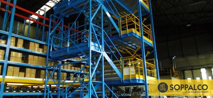 Scale per soppalchi industriali - soppalchi industriali - ilsoppalco.it