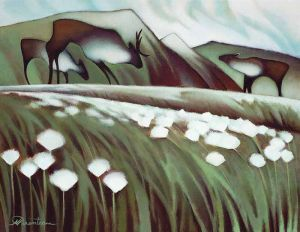 Arctic Cotton Grass  by Nathalie Parenteau , yukon