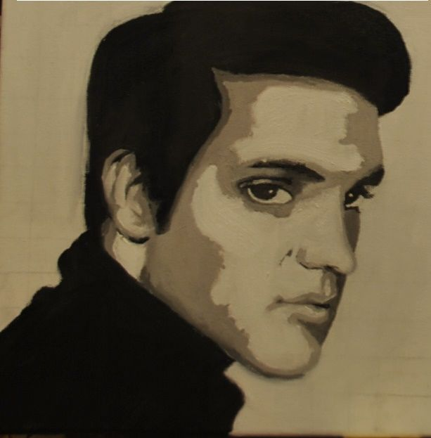 Elvis  Oil on canvas 2012
