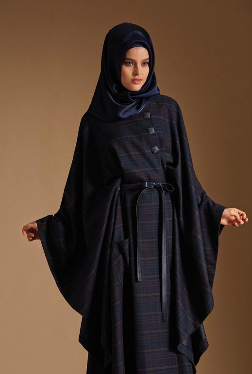 خطوط تزين إطلالة الحجاب