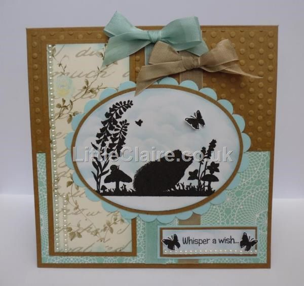 Silhouette Whisper a Wish stamp