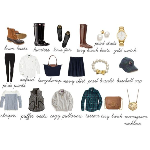 """winter preppy essentials"" by the-southern-prep on Polyvore"