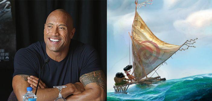 Disney's 'Moana' adds Dwayne 'the Rock' Johnson to voice cast
